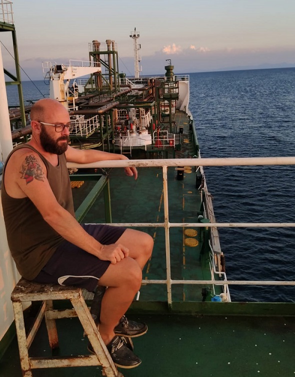 A bordo del CELANOVA
