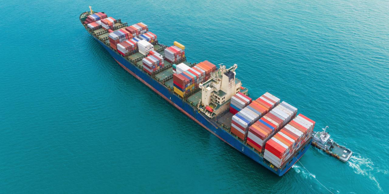 Caida de un 60% la caída de volumen del transporte marítimo europeo por el Coronavirus