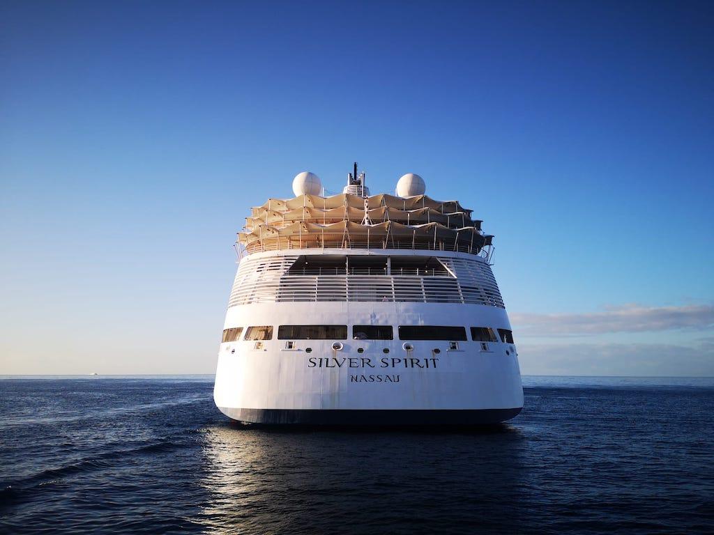Buque de cruceros abanderado en Bahamas