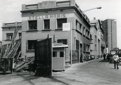 Antigua sede del Stella Maris de Barcelona